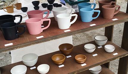 簡約風杯子碗盤,純淨的顏色讓人很想擁有!