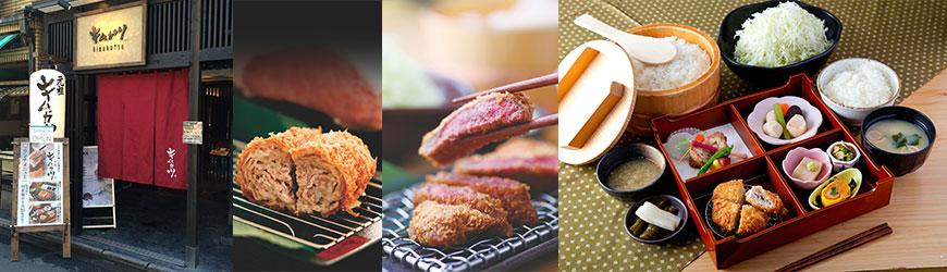 距離錦市場30秒!KIMUKATSU 豬排御膳的好滋味!