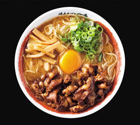 日本必吃推荐拉面在京都车站的「京都拉面小路」的德岛・ラーメン东大的德岛拉面加肉