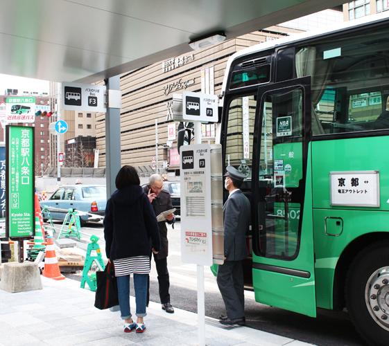 關西京都近郊最大級「三井 OUTLET PARK 滋賀龍王」交通方式京都八條口