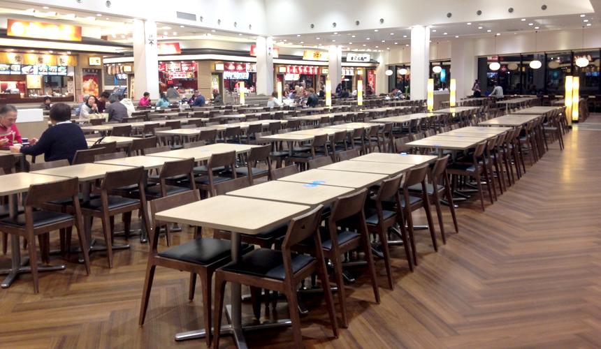 關西京都近郊最大級「三井 OUTLET PARK 滋賀龍王」用餐地點