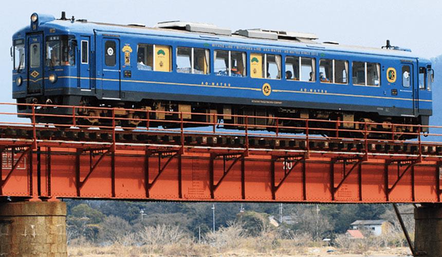观光列车特辑──京都丹后铁道观光列车鸣笛出发啰!