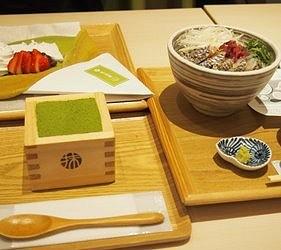 关西京都近郊最大级「三井 OUTLET PARK 滋贺龙王」的MACCHAHOUSE 抹茶馆